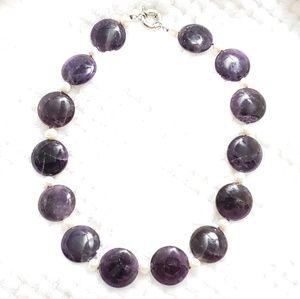 Jewelry - Semi Precious Amethyst set